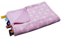 Snoozebaby  Deka do postie�ky DIAMOND PINK