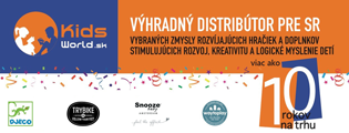 Výhradný dodávateľ značiek Djeco, Lilliputiens, Waytoplay a Trybike na Slovensko.