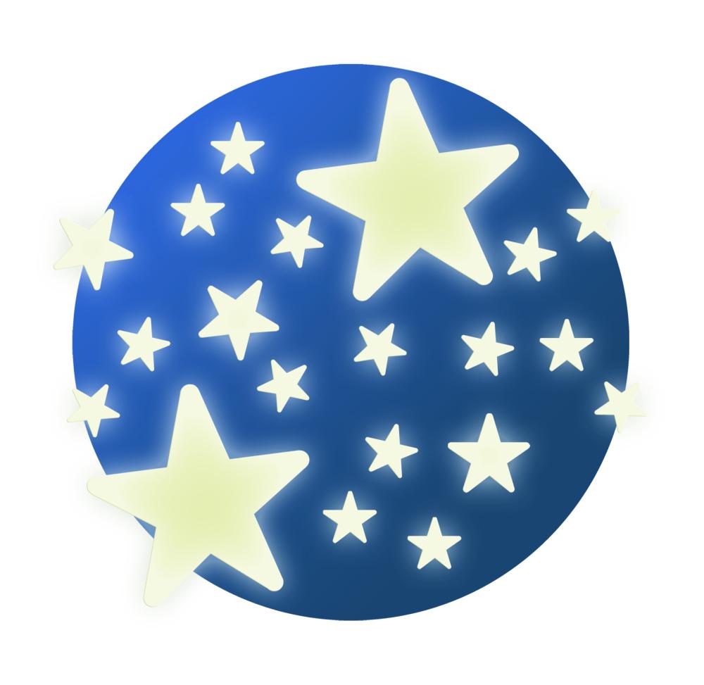 ebfab67e68d0 Dekorácia na stenu – Hviezdy