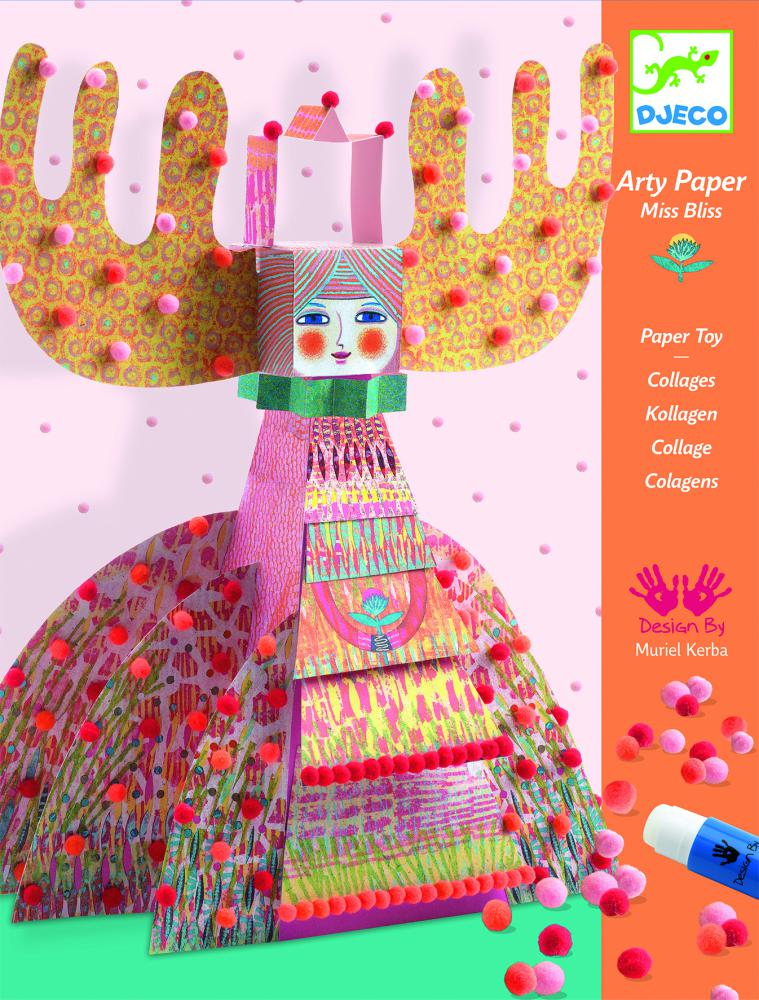 Arty Paper – Miss Bliss